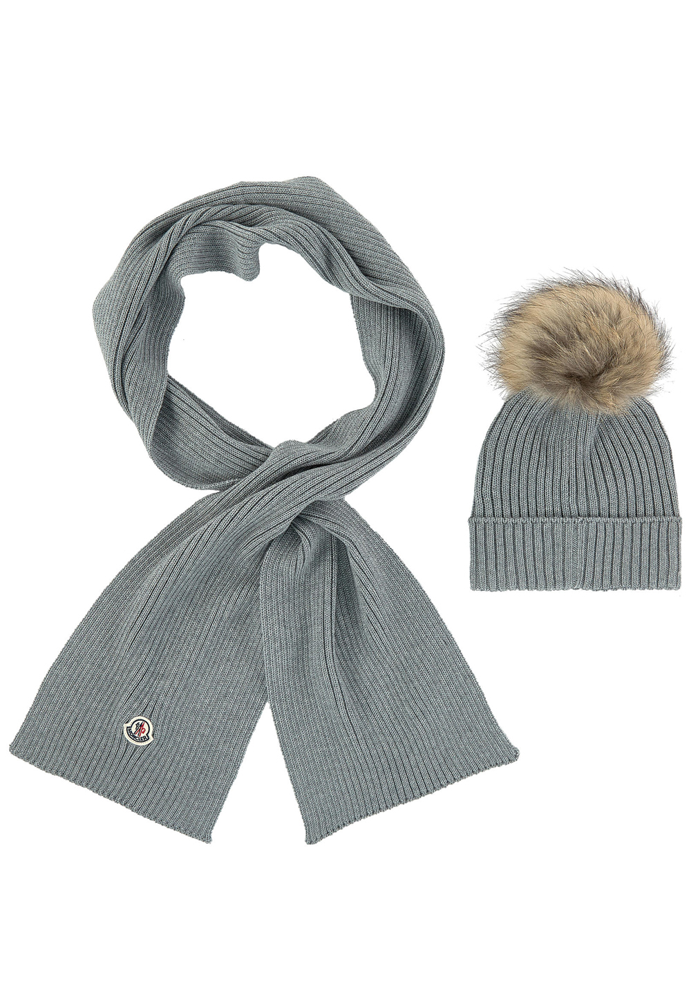 Home   Children   Designers   Moncler   Beanie and Scarf Set fe7b17b54f9